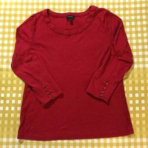 3 for $15 Talbots soft t-shirt blouse